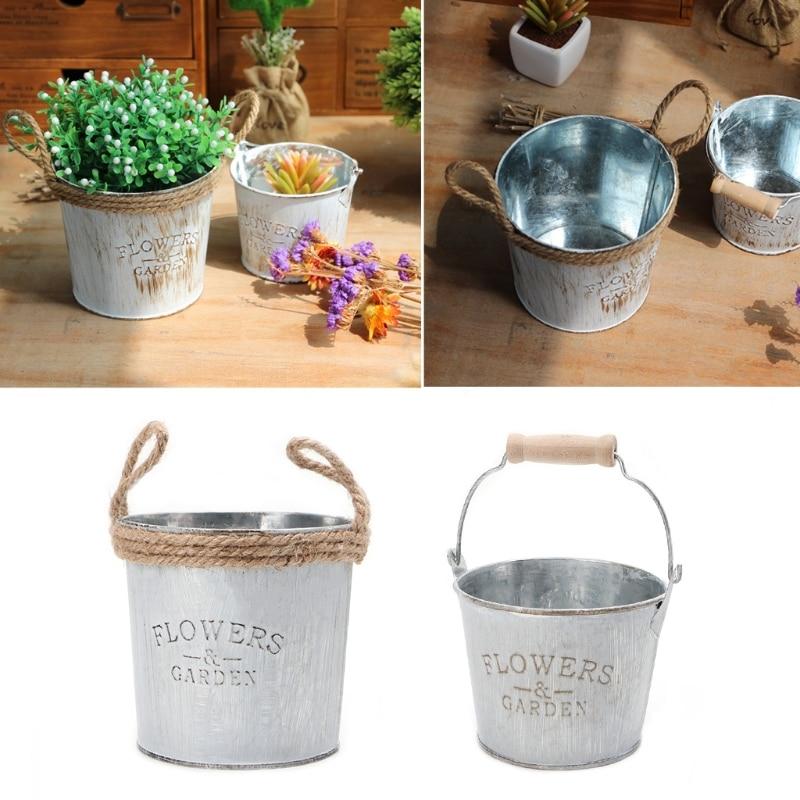 Iron Flower Garden Vase 2