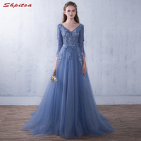 Long Sleeve Lace Mother of the Bride Dresses for Weddings A Line Evening Groom Godmother Dresses