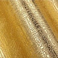 الذهب الفاخرة الحديثة خلفيات 3d تنقش الذهب احباط خلفيات لفة غرفة المعيشة خلفيات 3d البلاستيكية للماء ورق الحائط