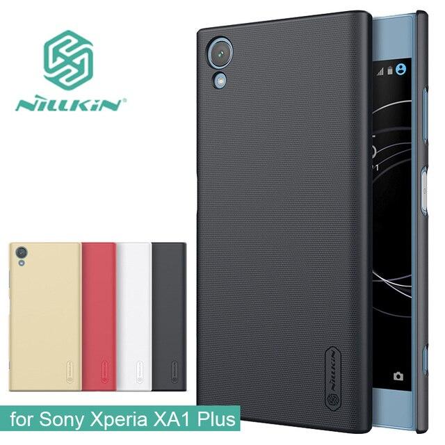 new concept c16e5 e62cc US $7.9 |for Sony Xperia XA1 Plus Nillkin Super Frosted Shield Hard Back PC  Cover Case for Sony Xperia XA1 Plus Nilkin Matte Phone Case -in ...