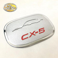 SNCN Car Styling Decoration Chromed ABS Sticker Of Fuel Tank Cap Gas Cap Tank Cover For