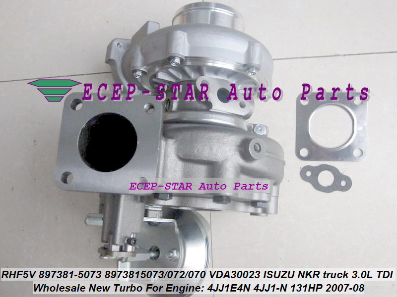 Turbo RHF5V 897381-5073 8973815073 8973815072 8973815070 Turbocharger Para ISUZU NKR truck 3.0L VDA30023 TDI 4JJ1E4N 4JJ1-N 131HP
