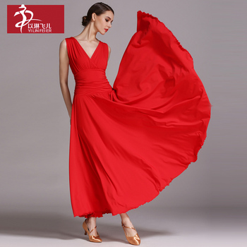 New fashion woman ballroom Standard dance dress dance clothing stage Modern dance costumes