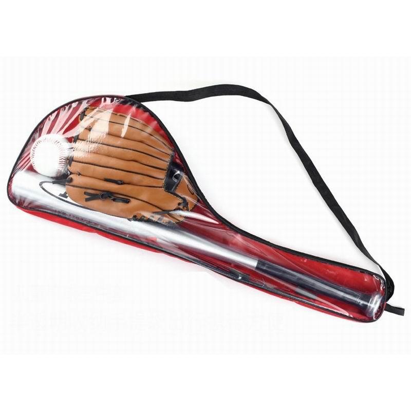 1 Set 3pcs: 1pc Alloy Aluminium Baseball Bat 25