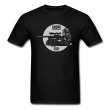 Brand Tees New Tactical Bear Sniper Night Mens Cartoon Print Tshirt For Student 80s Gaming Arm Shoot T-Shirt Anime