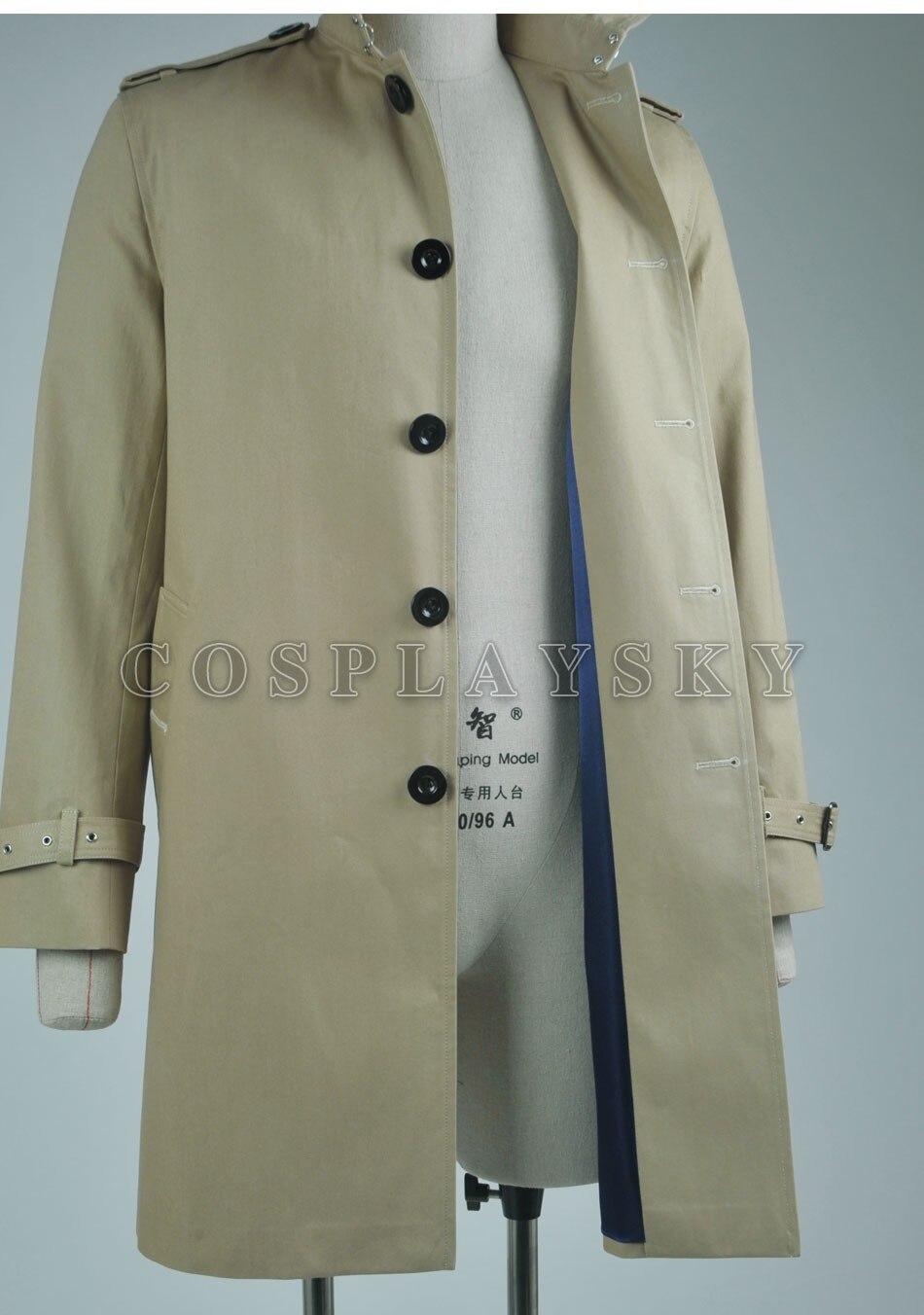 Couleur Cosplay Costumes Beige Constantine John Manteau Tranchée ZxFFRY