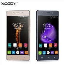 XGODY X18 5.0 Дюймов 3 Г Смартфон Android 5.1 1 ГБ RAM 4 ГБ ROM две Сим-Карты Wifi GPS Разблокирована 3 Г Телефон с Беспроводной BT Ухо стручки