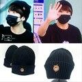 Kpop jungkook jimin jhope mesmo estilo do bordado moda cap harajuku hip hop cap chapéu bombardeiro