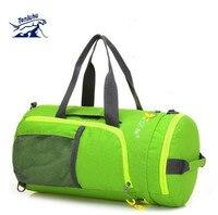 TANLUHU Men Women Waterproof Nylon Sport Bags Training Gym Bag Fitness Bags Durable Multifunction Handbag Outdoor