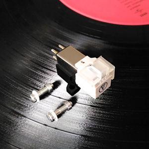 Image 4 - Аудиоtechnica мм движущийся Магнитный картридж LP проигрыватель Phono phonographic Stylus