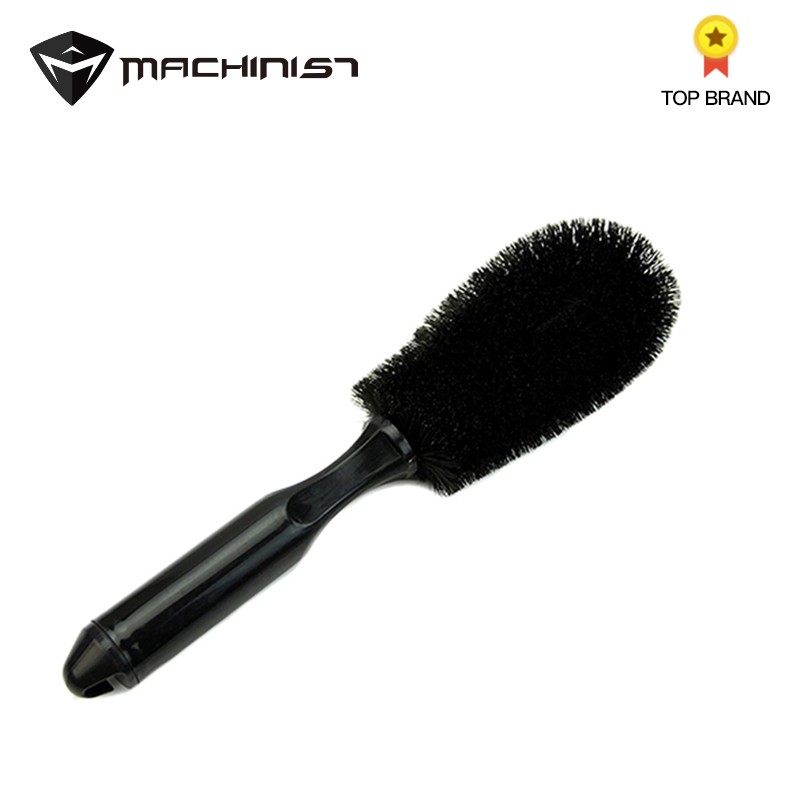 1PC Car Wheel Tire Rim Scrub Brush Auto Truck Washing Cleaning Tool Car Motorcycle Wheels Handle Brush Tool 25CM