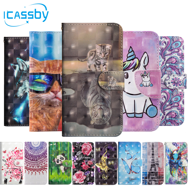 Phone Bags & Cases Delicious Case For Sony Xperia Xz2 Case Leather Wallet Phone Cases For Soni Experia Xz2 Cover 3d Cat Panda Flip Etui For Sony Xz2 Coque Wallet Cases