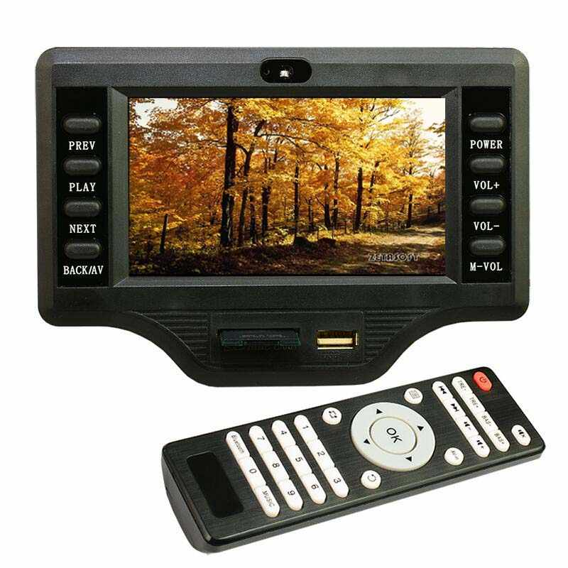 12 V-24 V с 50 Вт * 2 + 100 W высоких и низких Регулировка звука, Bluetooth MP4/MP5 аудио и видео декодер доска