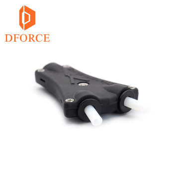 Dforce 2 in 1 out TL-Freeder V6 Cyclops dual head kit 2WAY in 1WAY heraus tl-feeder  bowden prometheus multi feeder system mit hot 3d printer v6 cyclops dual head kit 2 in 1 out tl feeder bowden splitter multi feeder system with with titan extruder