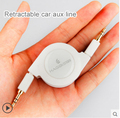 3.5 мм акустический кабель оптический аудио кабель автомобиля AUX кабель мобильного телефона Высокое качество телескопические хранения