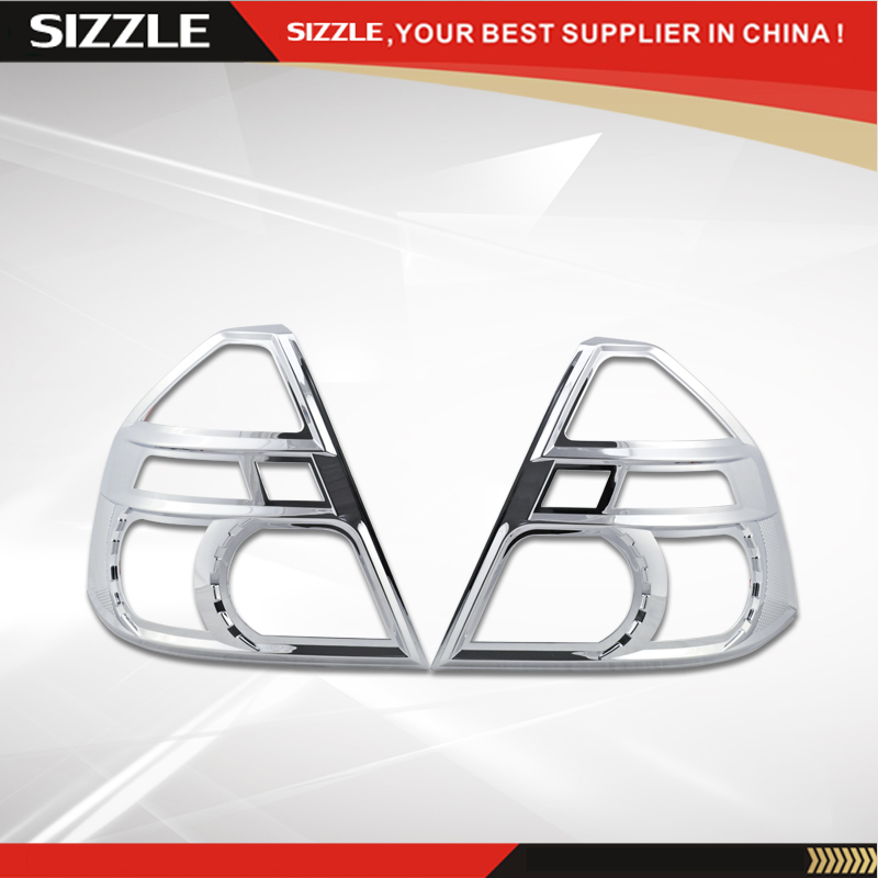 Tail Light Bezel Covers For Chevrolet AVEO Sedan 2009 2010 2011ABS Plastic Chrome Plating Accessories Accesorio