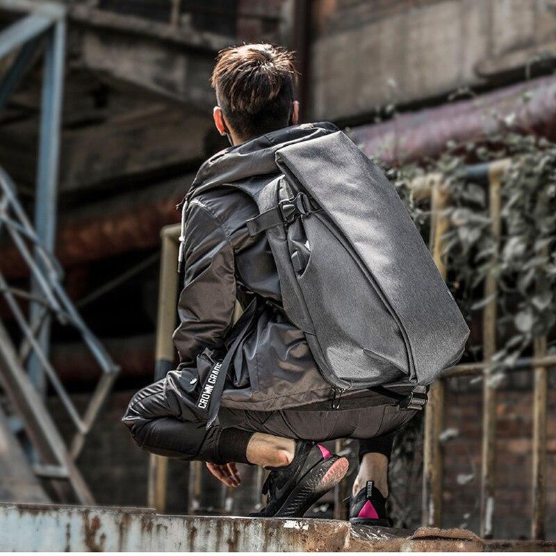 Image 5 - Мужской рюкзак для мальчиков, сумка через плечо, usb зарядка, сумка для ноутбука, модная сумка для ноутбука, для путешествий на открытом воздухе, Оксфорд, Спортивная, водонепроницаемая, 14 дюймов-in Сумки и чехлы для ноутбука from Компьютер и офис