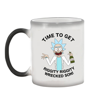 Rick and Morty Heat Colour Changing Mugs