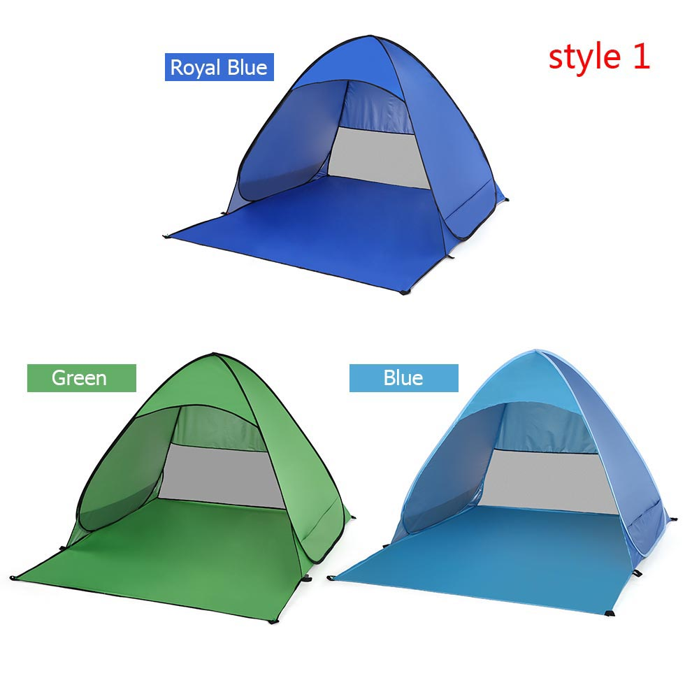 Automatic Beach Outdoor Fishing//Camping UV Sun Protection Shelter Tent