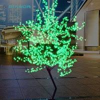 DVOLADOR Holiday light LED Cherry Blossom Tree Light 1.5m 1.8m New Year Wedding Decorative Tree Branches Lamp Outdoor Lighting