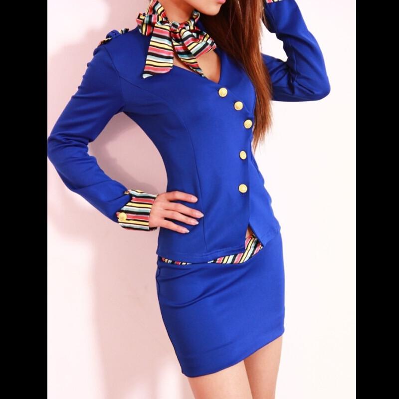 2016-New-Korean-Spring-Summer-Fashion-Women-Skirt-Suits-Career-OL-Blazer-Skirt-Office-Coat-Jacket