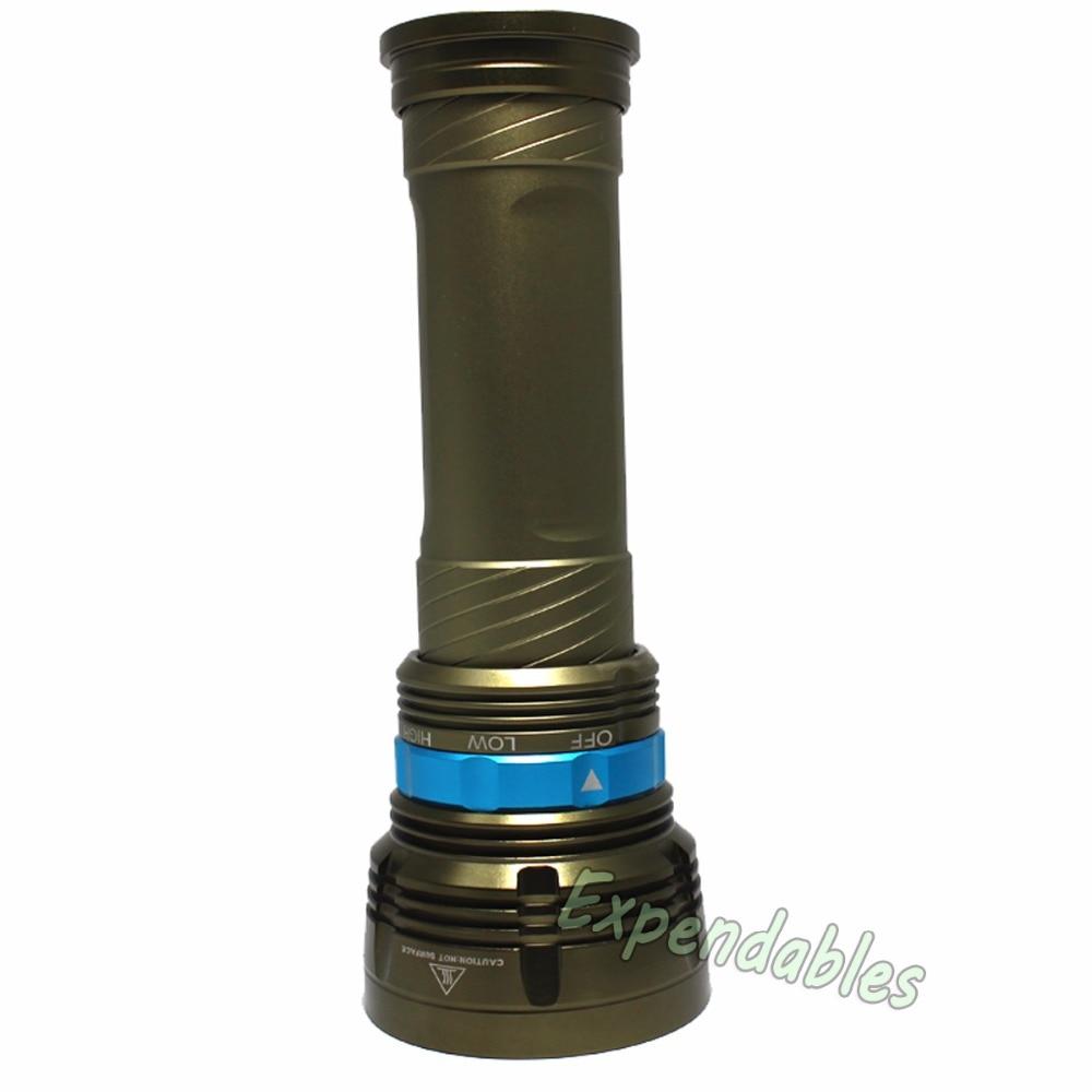 18000LM 9x XML T6 светодио дный Водонепроницаемый подводное погружение фонарик факел 3-режимы 2016