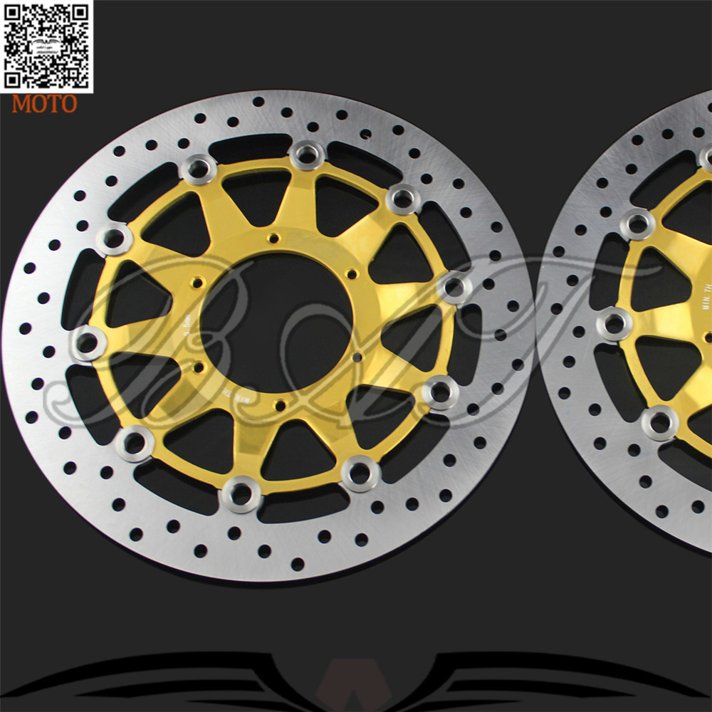 Motorcycle Front Brake Discs Rotor For Honda CBR1000RR 2006 2007 2008 2009 2010 2011 2012 front brake aftermarket free shipping motorcycle parts eliminator tidy tail for 2006 2007 2008 fz6 fazer 2007 2008b lack