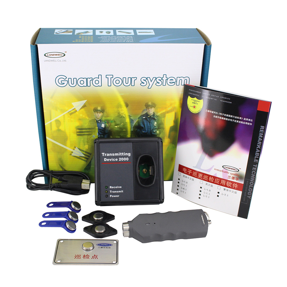 Smart Card System Honest Landwell L-2000p Gps Security Guard Tour Logger