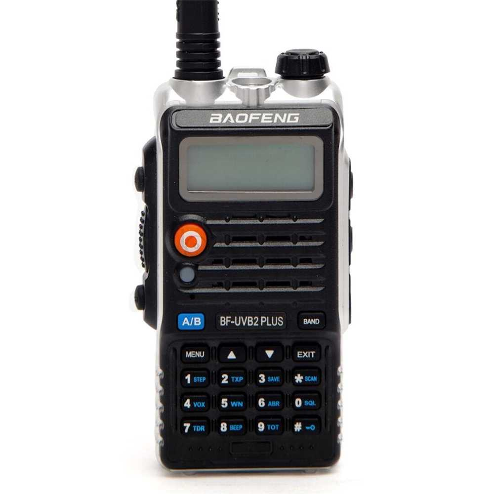 Baofeng UVB2 Plus UV-B2 Radio bidirectionnelle double bande VHF/UHF talkie-walkie 128CH interphone BF-UVB2 jambon CB Radio émetteur-récepteur portable