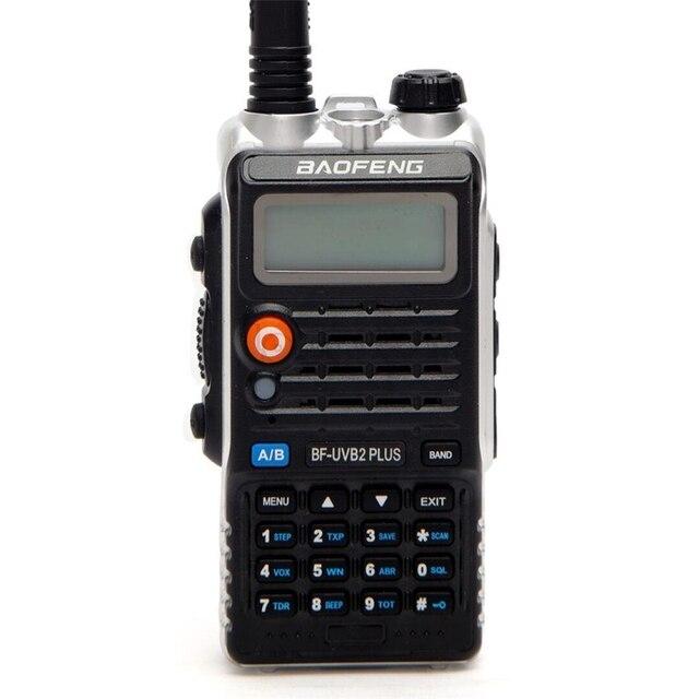 Baofeng UVB2 Plus UV B2 Twee Way Radio Dual Band Vhf/Uhf Walkie Talkie 128CH Interphone BF UVB2 Ham Cb Radio handheld Transceiver