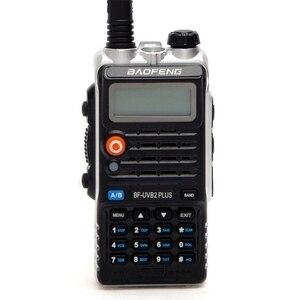 Image 1 - Baofeng UVB2 プラスUV B2 双方向ラジオデュアルバンドvhf/uhfトランシーバー 128CHインターホンBF UVB2 ハムcbラジオハンドヘルドトランシーバ
