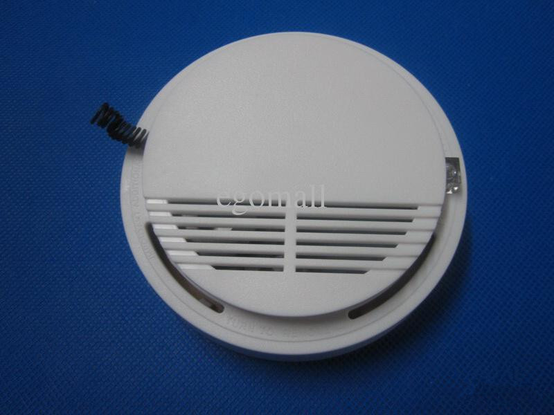 Wireless Smoke Detector/sensor For Wireless GSM Alarm System Fire Smoke  Detector S160
