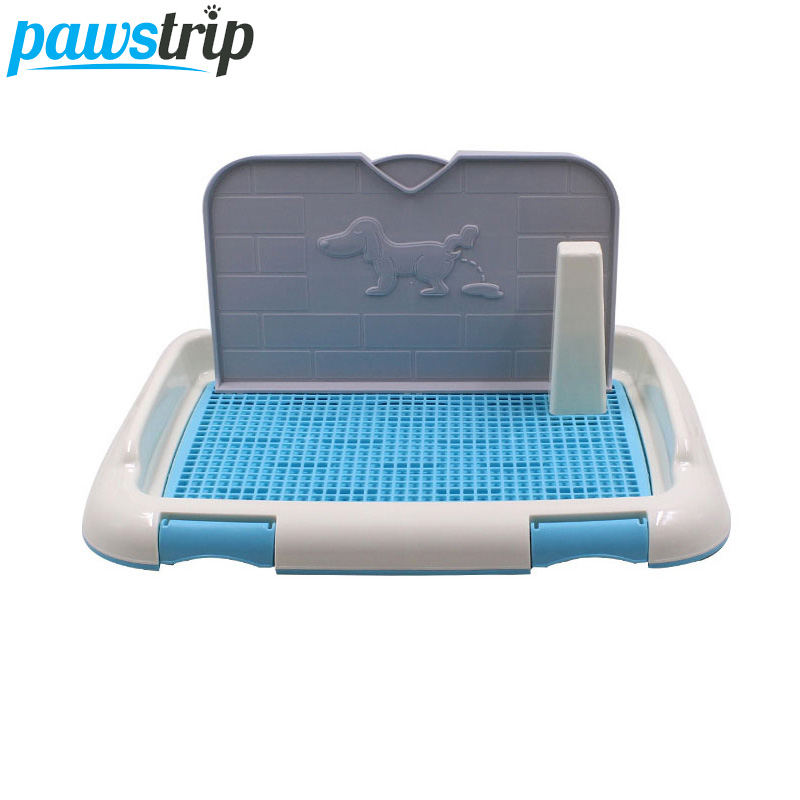 Pawstrip 3 Colors Pet Dog Litter Box Puppy Potty Training Indoor Dog Toilet Self Cleaning For Small Dogs