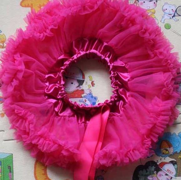 Настроить юбка-пачка новорожденных юбка-пачка ярко-розовый цвет и фиолетовый Pettiskirts Детские юбка-пачка - Цвет: Бежевый