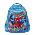 2016 fashion 5D cartoon spiderman school bags child quality backpack 16 inch boys schoolbag mochila escolar infantil best gift