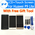 Para huawei p9 lite pantalla lcd pantalla táctil 100% nuevo accesorio de reemplazo para huawei p9 lite fhd 5.2 pulgadas móvil teléfono