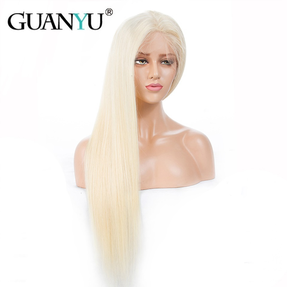 EQ-Hair-613-Blonde-130-Density-Peruvian-Remy-Human-Hair-Lace-Front-Wigs-Pre-Plukced-With
