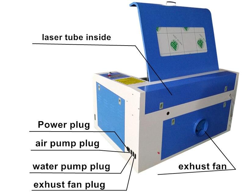 HTB1.3XyXUrrK1RkSne1q6ArVVXan - 2018new type CNC laser cutting machine/laser engraver/CO2 laser cutter 4060/6040 for wood plywood engraving machine DIY