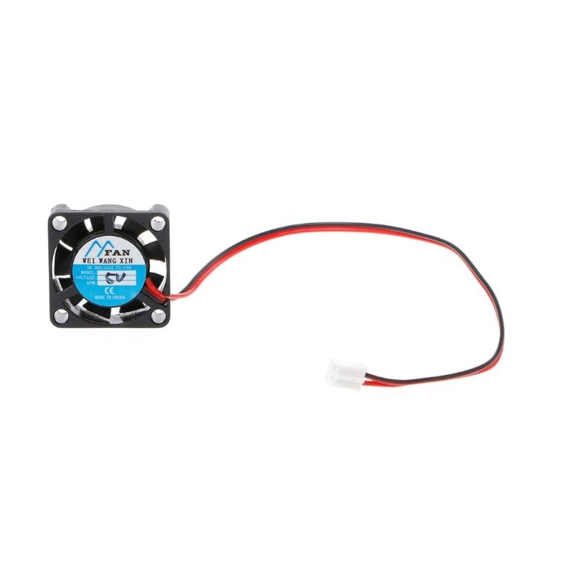 25×25×7mm DC 2-Pin Cooler Brushless Chipset Heatsink Mini Cooling Fan 2507