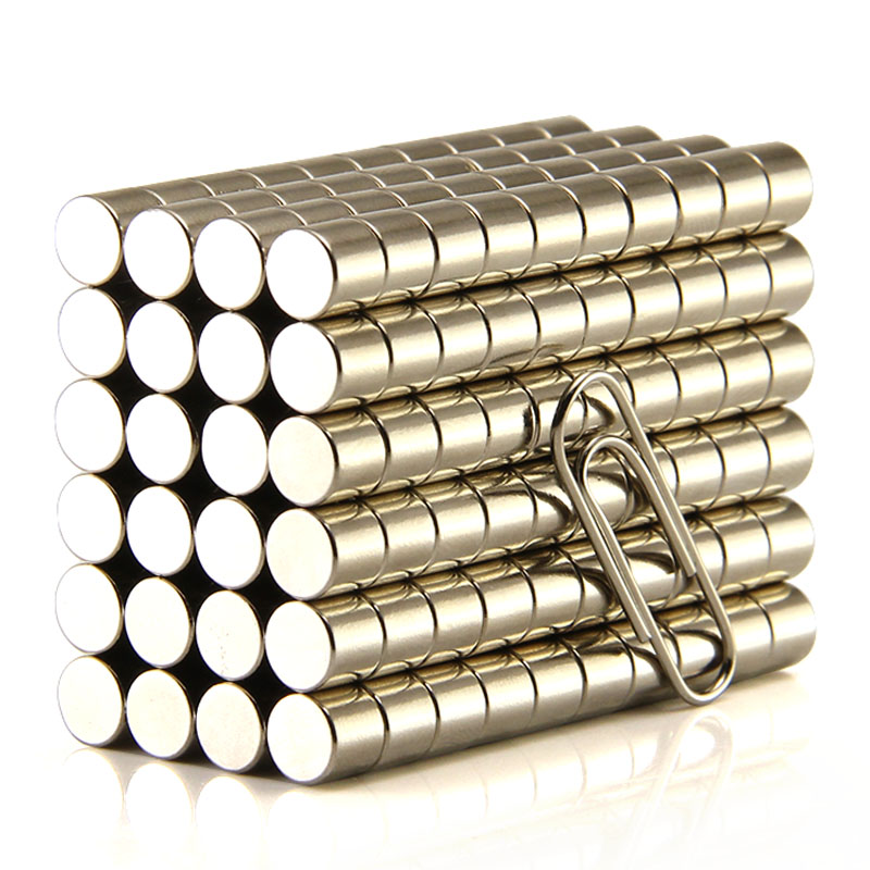 1000pcs Dia.6x6mm N50 Rare Earth Neodymium Magnet 6mmx6mm Great Teaching Aid Strong Round Magnets 50pcs strong round magnets dia 10x2mm n50 rare earth neodymium disc magnet picture wall