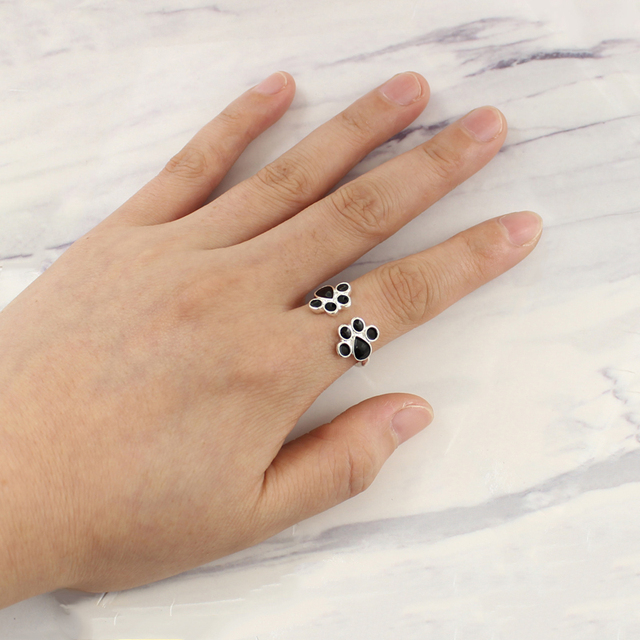 Women's Creative Paw Patterned Ring