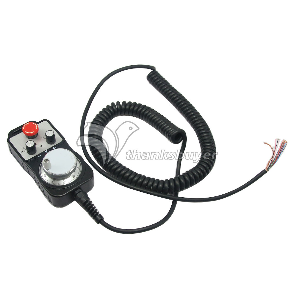 CNC Pulse Generator 4 Axis MPG Pendant Handwheel & Emergency Stop for FAGOR GSK led h4 h7 h11 h13 h1 9005 9006 9004 9007 h3 hb3 hb4 100w 9600lm canbus car led headlight bulb fog light 6000k auto headlamp bulb