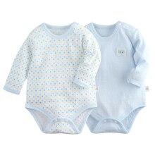 changbvss O-neck Newborn Infant Baby Romper 100% Cotton