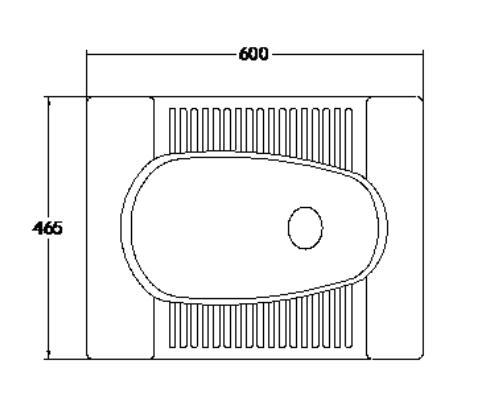 High Quality Sanitary Ceramic Squat Toilet 4