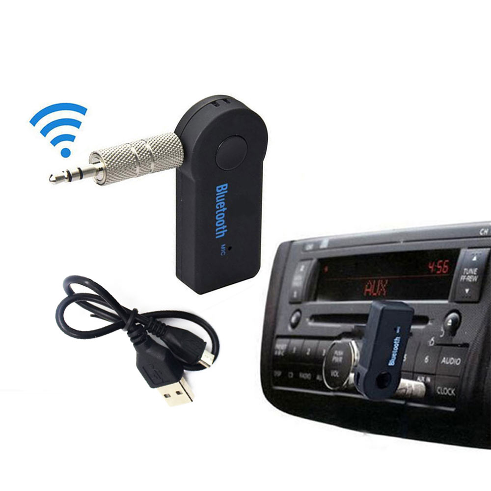 Blutooth Adapter Wireless For Car Music Audio Bluetooth Receiver Adapter Aux 3.5mm A2dp For