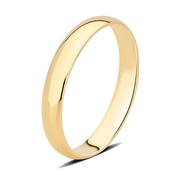 AINUOSHI 10K Solid Yellow Gold Ring Luxurious Wedding Engagement