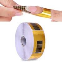 500 stücke Nagel Form für Acryl UV Gel Tipps Erweiterung Kunst