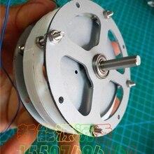 Миниатюрный дисковый Бессердечный генератор с постоянным магнитом, высокоэффективный миниатюрный низкоскоростной генератор с низким сопротивлением