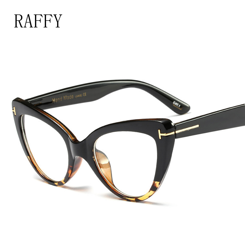 b5bfe6e452f3 Aliexpress.com : Buy RAFFY Vintage Cat Eye Optical Frame Reading Glasses  For Women Men Eyeglasses Frame Eyewear Eyeglasses Frames Prescription Frame  from ...