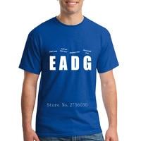 Classique Basse Lecteur hommes de T-Shirt Rock band EADG t chemises T-shirt Marque T-Shirt Homme À Manches Courtes Pas Cher Tee Unique vêtements